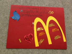 Mcdonalds birthday party made special gracias latism it all started with this birthday card i created at the latism latinos in tech innovation and social media conference in houston tx bookmarktalkfo Gallery