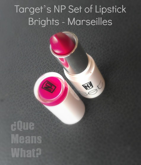 Target's NP Set of Lipstick Brights