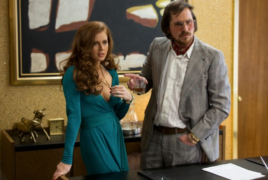 Amy Adams Christian Bale American Hustle