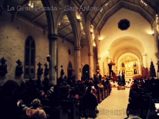San Fernando Cathedral on La Gran Posada