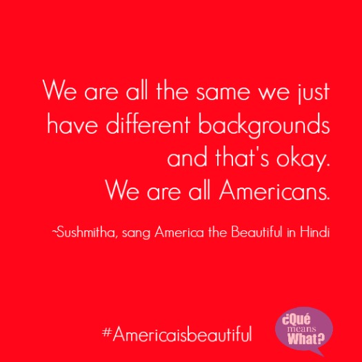 we are all americans