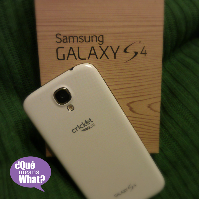 Samsung Galaxy S4 Cricket QueMeansWhat