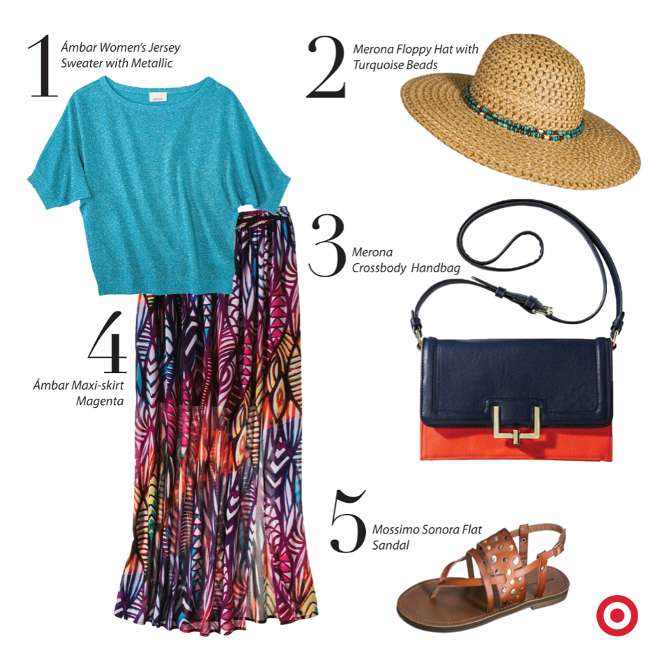 Target Ambar Casual-Chic Meets Color Que Means What