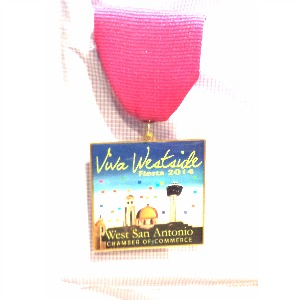 Fiesta Medal QueMeansWhat