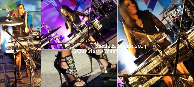 Sheila E Drummer QueMeansWhat