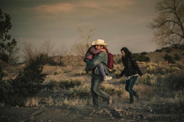Michael Pena and Eva Longoria in FRONTERA, a Magnolia Pictures release. Photo courtesy of Magnolia Pictures.