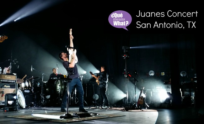 Juanes Concert San Antonio