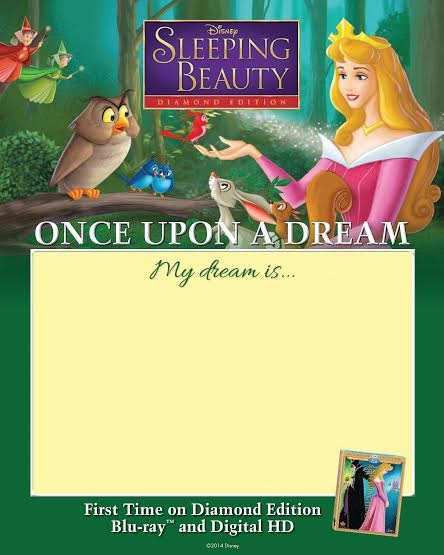 Sleeping Beauty Once Upon a Dream Sheet