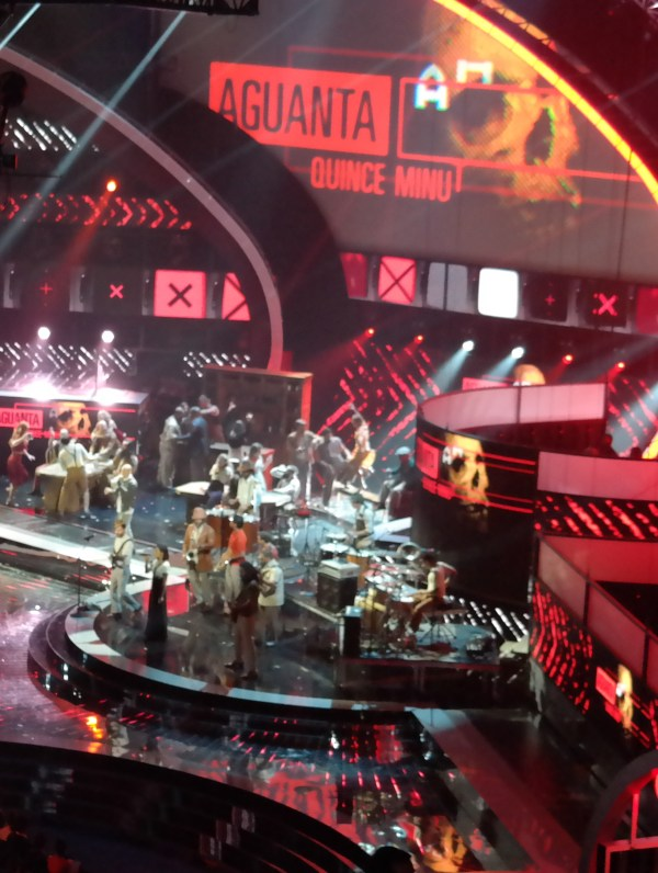 Calle 13 Opening 2014 Latin Grammys #VZWbuzz  QueMeansWhat.com