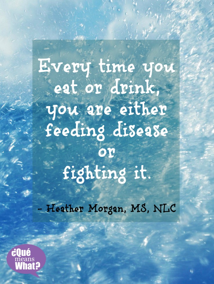 Eat or drink is feeding or fighting disease quote QueMeansWhat