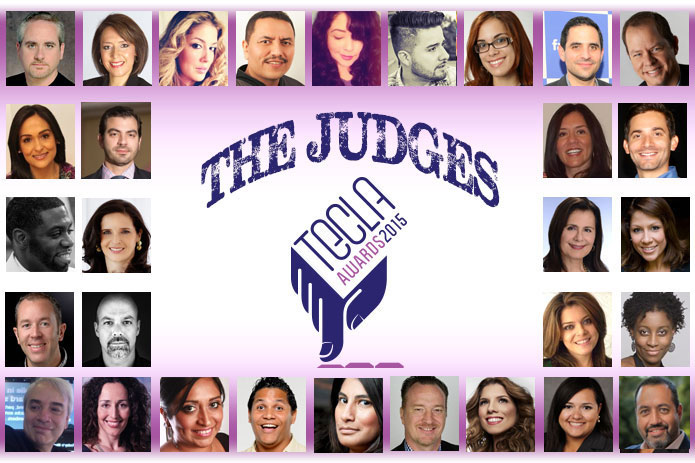 Judges of Tecla Awards Hispanicize 2015 QueMeansWhat.com