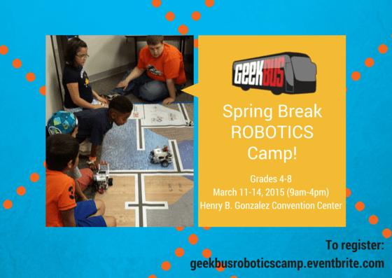 SASTEMIC Robotics Spring Break Camp