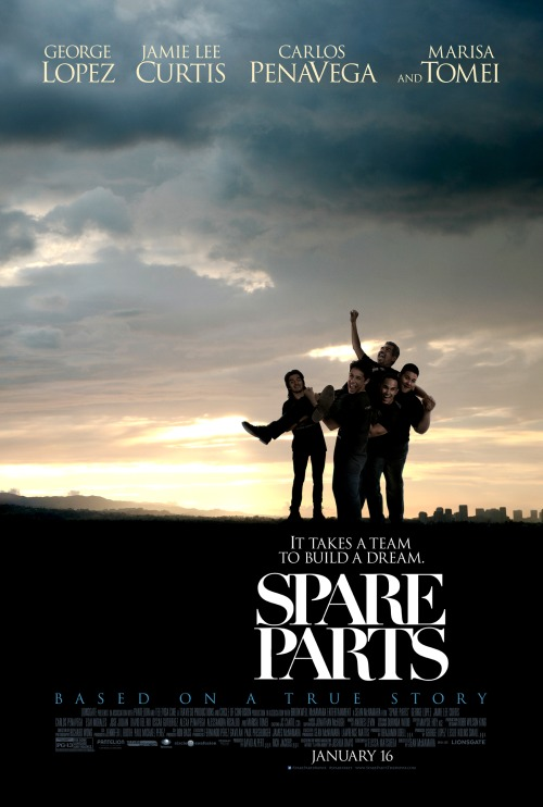 SPARE PARTS Movie Review - The Cast, The Underdogs, The Robotics Competition