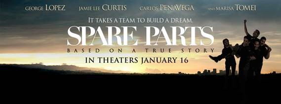 Spare Parts release date January 16
