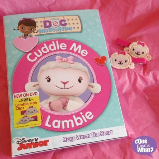 Doc McStuffins Cuddle Me Lambie DVD QueMeansWhat.com