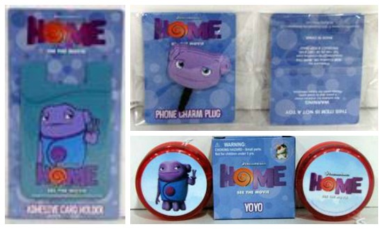 Dreamworks HOME Prize-Pack
