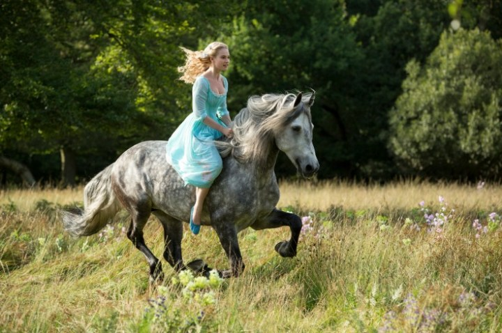 Lilly James in Cinderella - Courtesy of Walt Disney Pictures