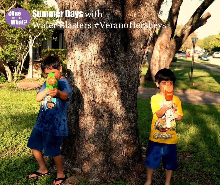 Summer days with Water Blasters #VeranoHersheys QueMeansWhat