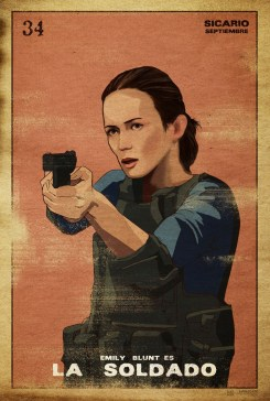 Sicario La Soldado Loteria Card - Que Means What