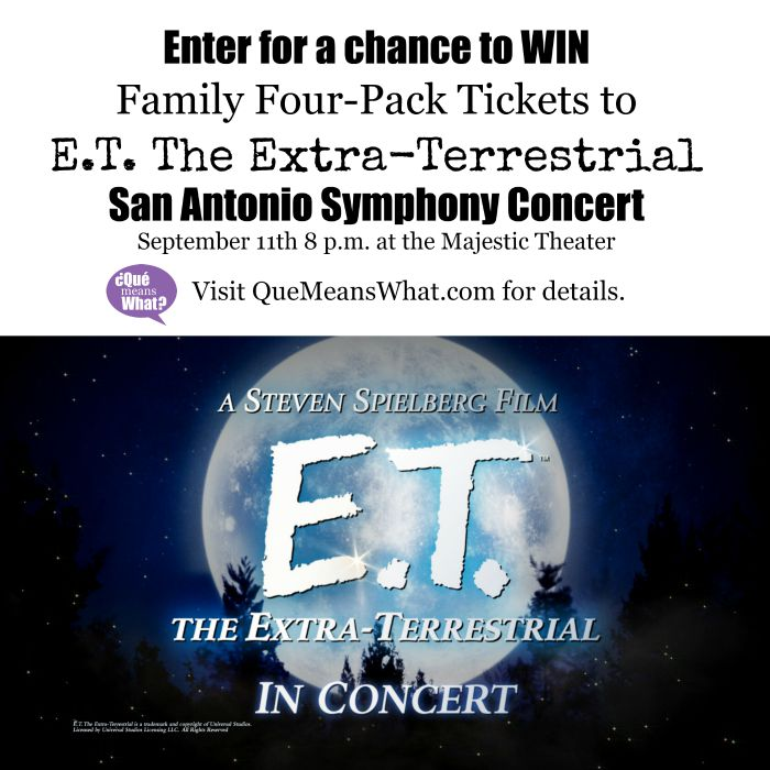 ET in SA San Antonio Symphony Concert Ticket Giveaway - QueMeansWhat.com