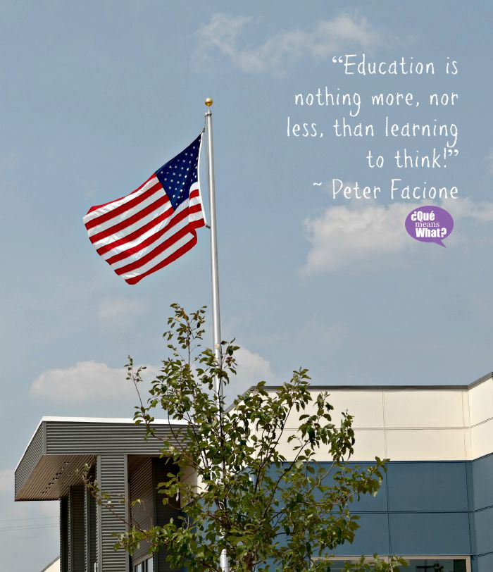Education is nothing more, nor less, than learning to think. Quote - QueMeansWhat.com