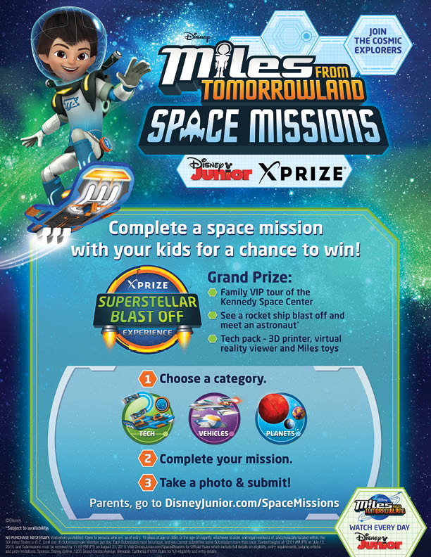 Miles from Tomorrowland Activity Project
