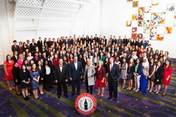 Coca-Cola Scholars 2015 Group Photo