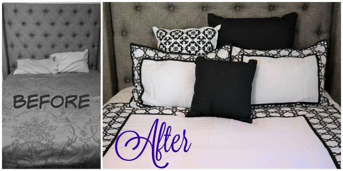 Before and After Eva Longoria Home Collection