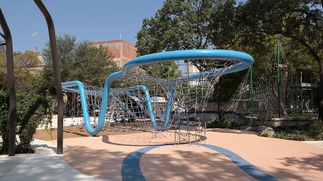 Boomerang Net Playscape Yanaguana Garden - QueMeansWhat
