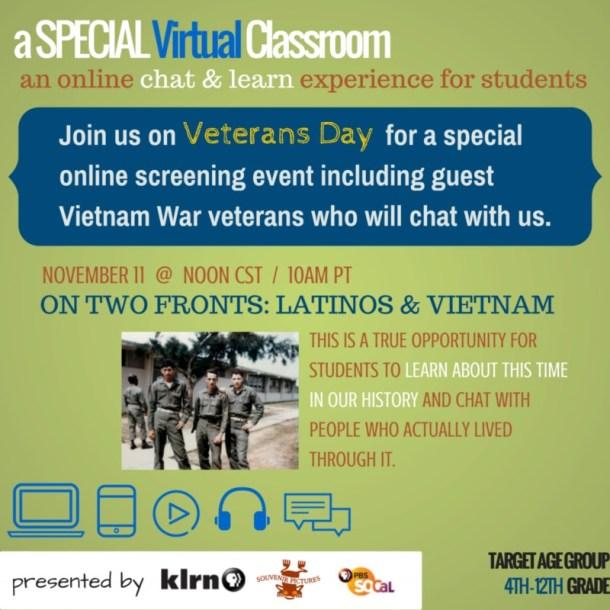 KLRN Veterans Day screening