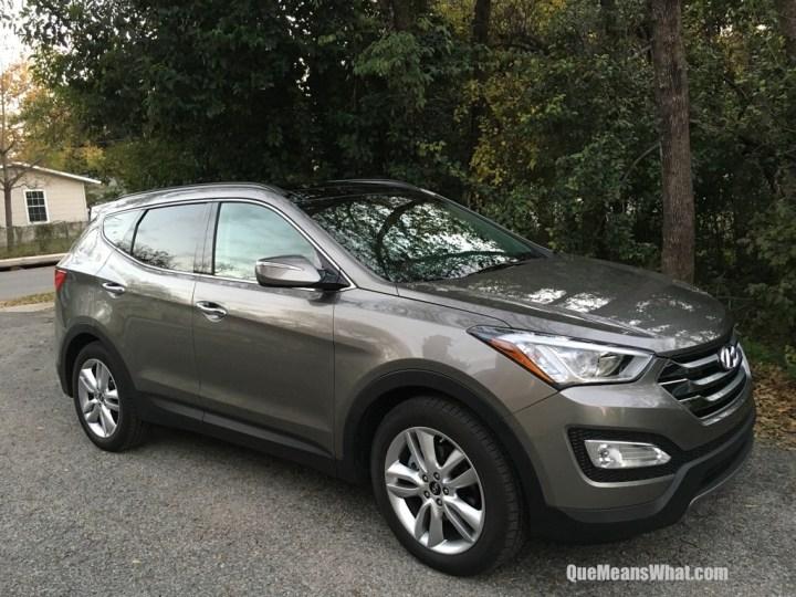 Hyundai Santa Fe Sport - Que Means What
