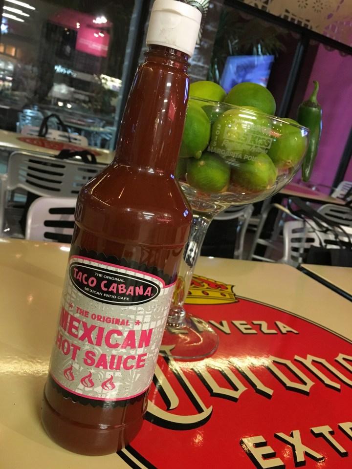 Taco Cabana Mexican Hot Sauce