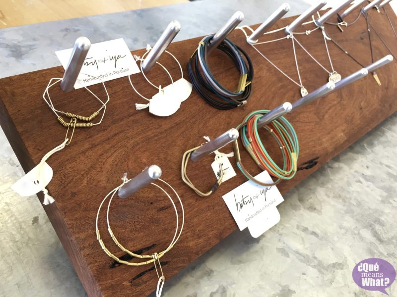 Jewelry at Ore and Timber QueMeansWhat.com