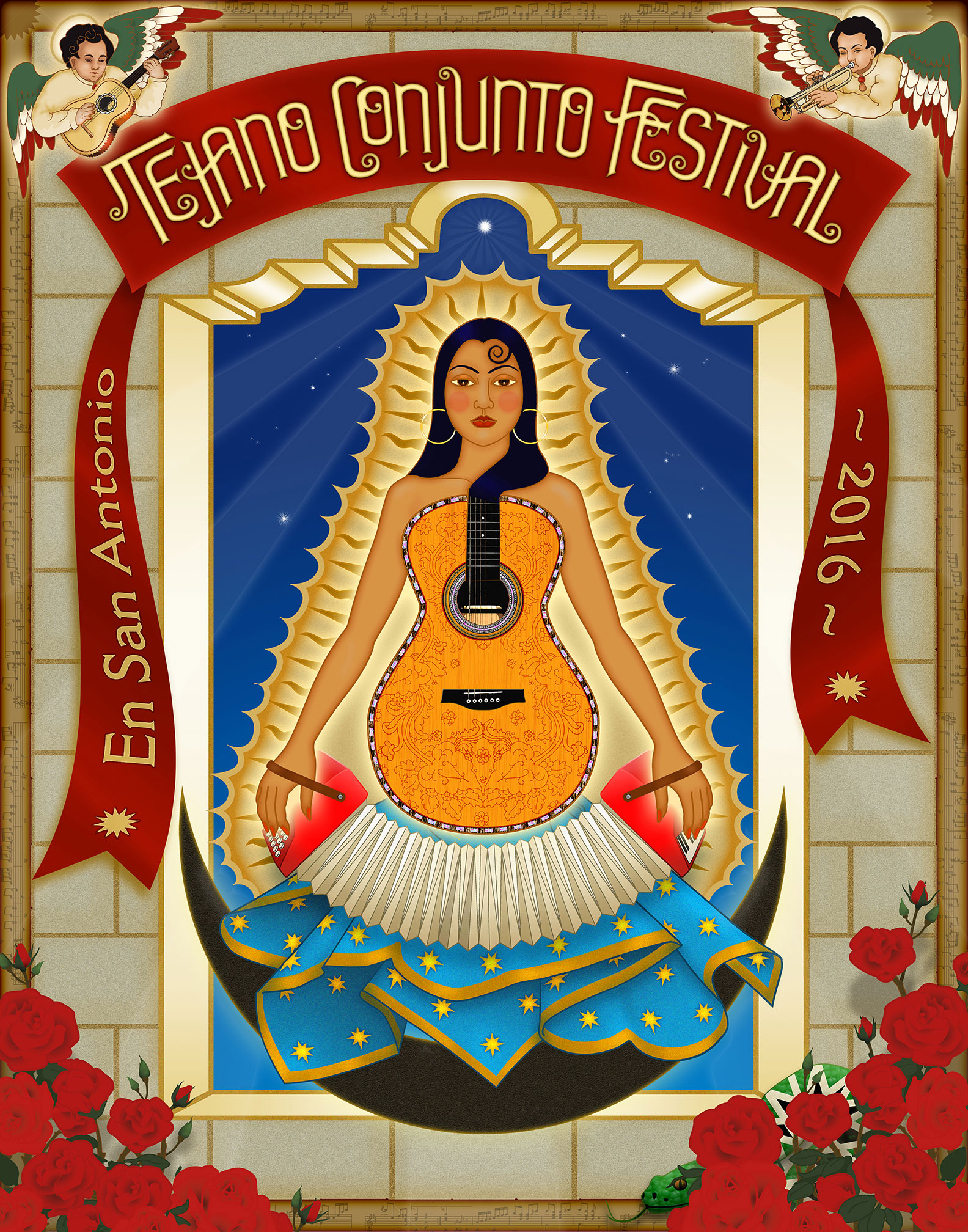 Tejano Conjunto Festival 2016 Poster