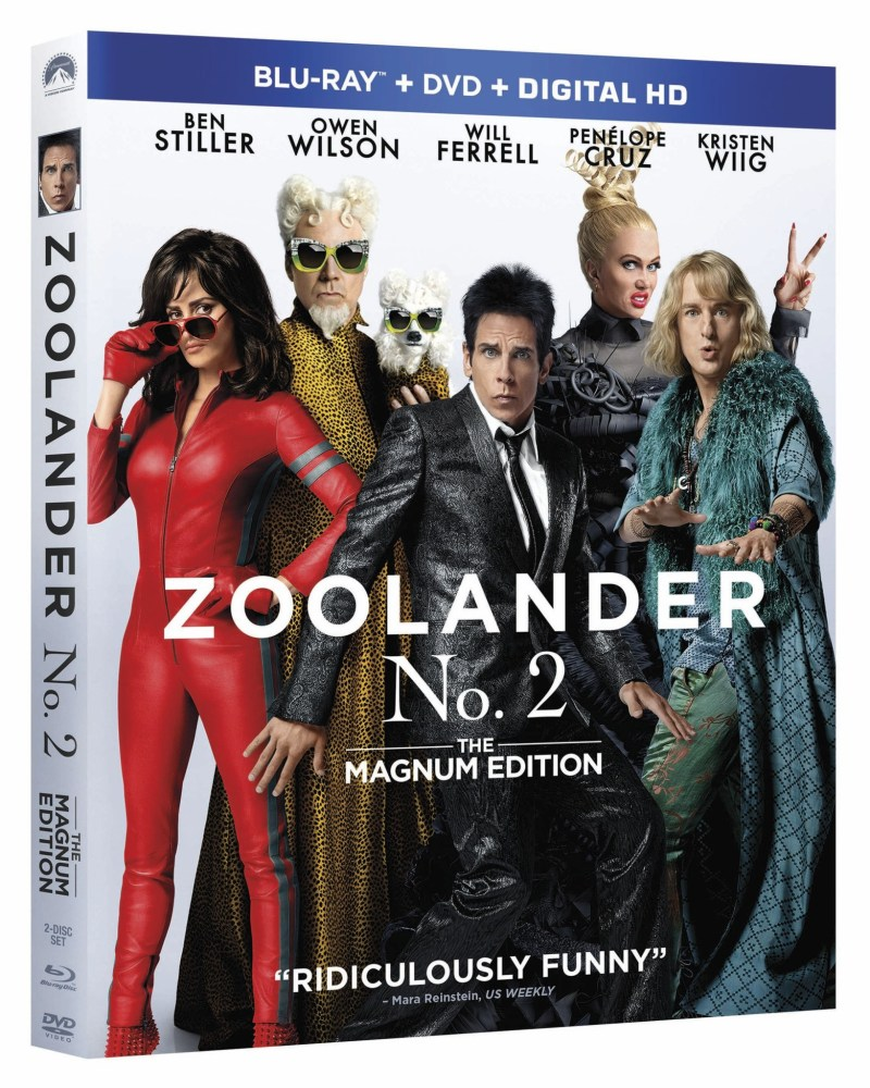 Zoolander 2 Blu-ray DVD