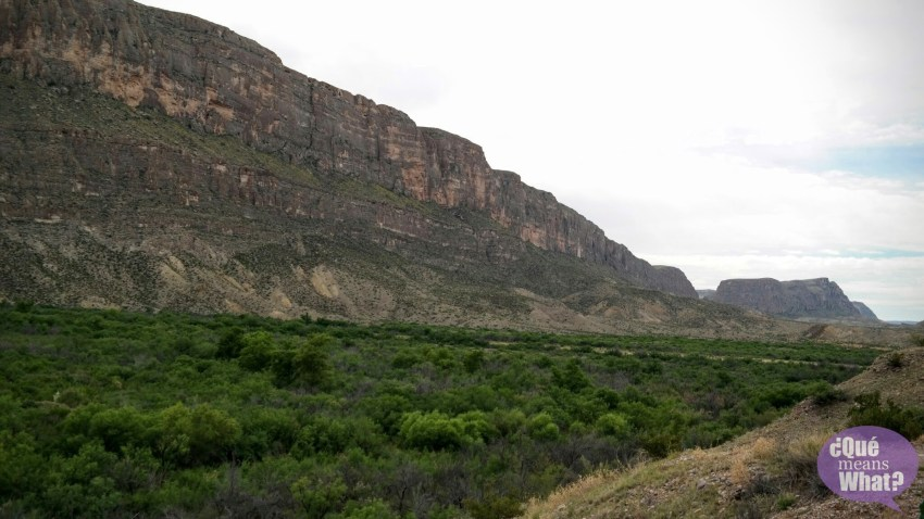 Santa Elena Canyon at Big Bend National Park - Que Means What