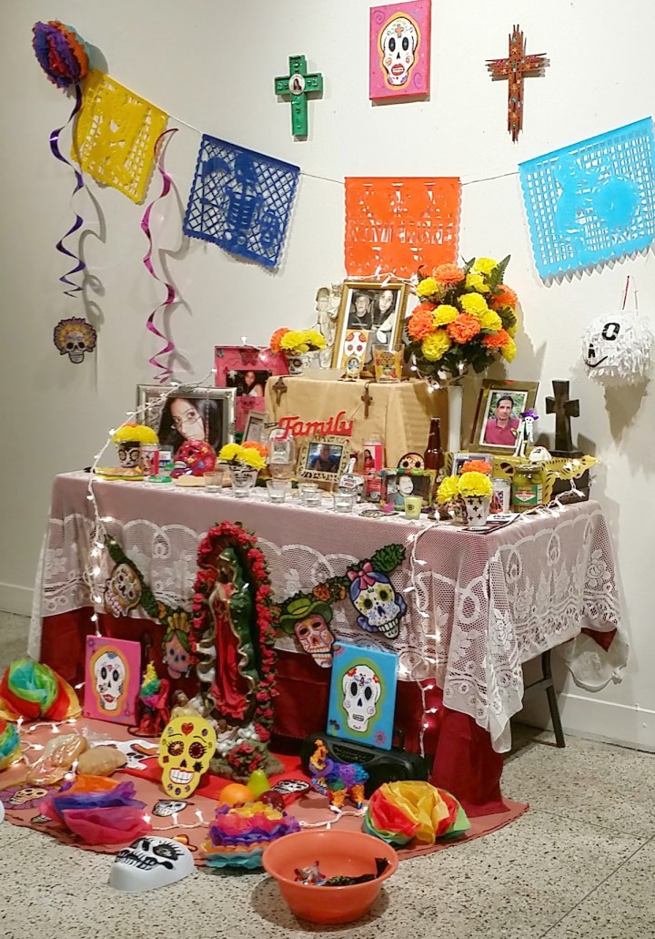 Dia de los Muertos Altar at Guadalupe Cultural Arts Center