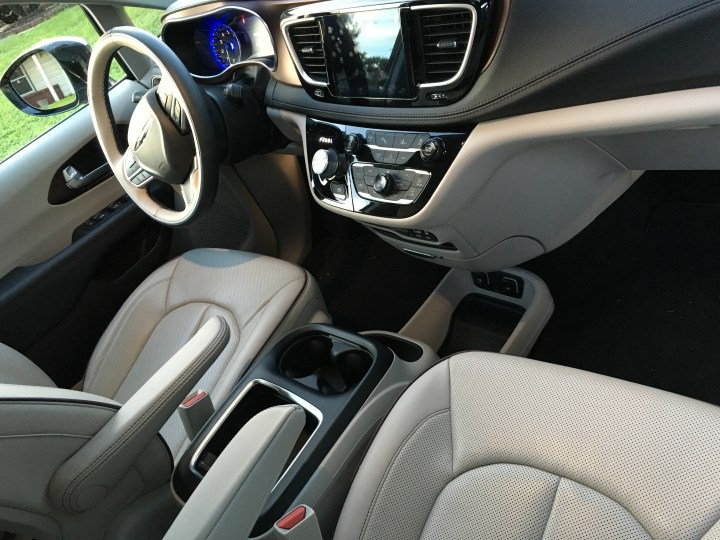 Chrysler Pacifica Review - Ventilated/Heated Seats