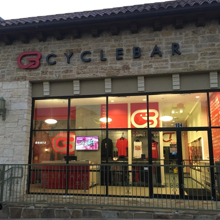 Giving It All You Got at CycleBar Stone Oak