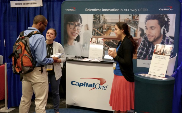 Capital One at 2016 Tapia Conference