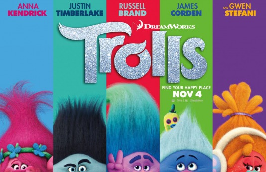 Trolls Movie Poster - Trolls Movie-Inspired Melted Crayon Craft