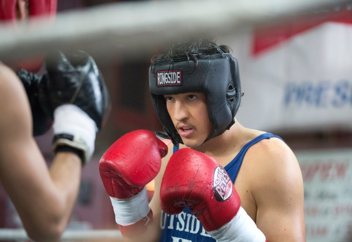 Miles Teller in BLEED FOR THIS Photo credit: Seacia Pavao