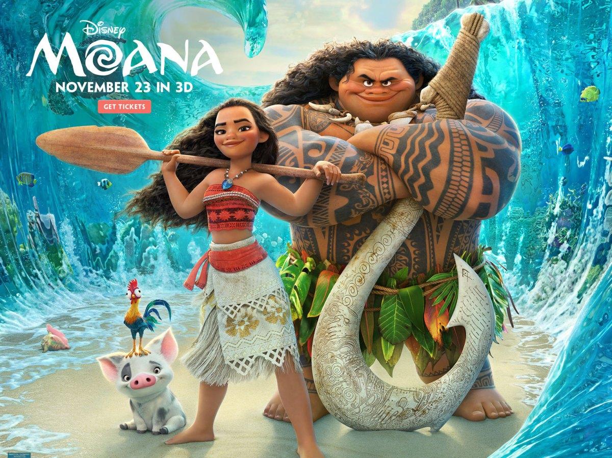 MOANA Movie Educator's Guide + Movie Ticket Giveaway for San Antonio Screening