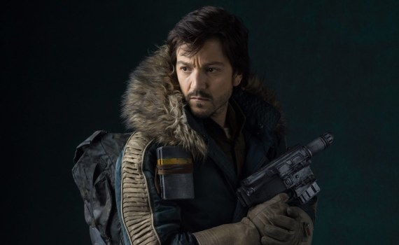 Diego Luna as Cassian Andor, Rogue One Star Wars :: Lucasfilm Ltd. All Rights Reserved