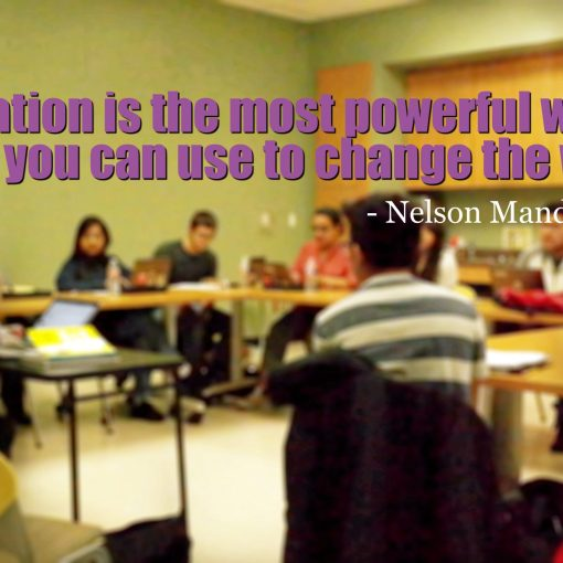 Education ins the most powerful weapon - QueMeansWhat.com