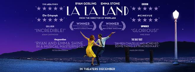La La Land Movie in Theaters December 2016