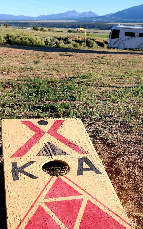 Games at KOA in Colorado