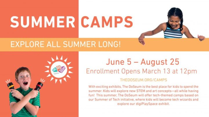 The DoSeum Summer Camps