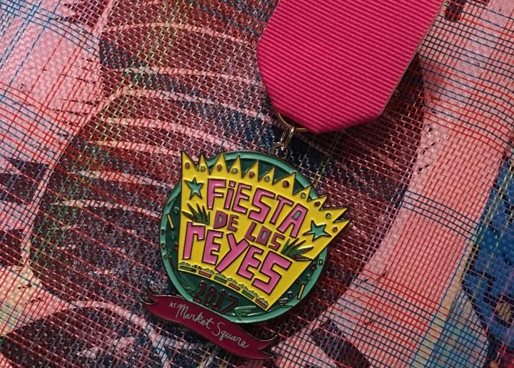 Official Fiesta de los Reyes Fiesta Medal 2017