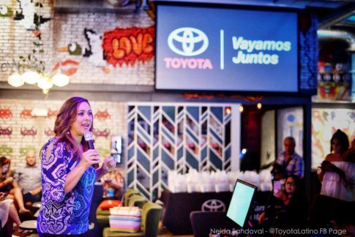 Neida Sandoval at Toyota Somos Imparables Event at Hispanicize